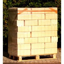 1 palle RUF TRÆBRIKETTER (10kg pr.pak/960kg pr.pll) incl. moms + FRAGT